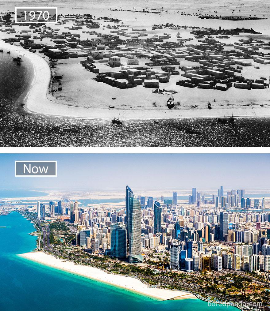 Abu Dhabi time lapse